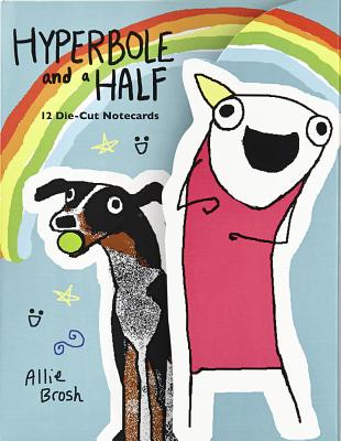 Hyperbole and a Half Die-Cut Notecards - Brosh, Allie