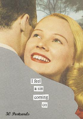 I Feel a Sin Coming on Postcard Bk - Taintor, Anne