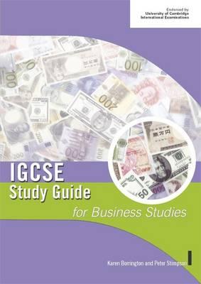 IGCSE Study Guide for Business Studies - Stimpson, Peter, and Borrington, Karen