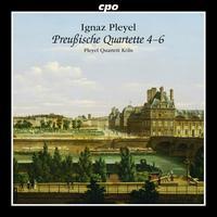 Ignaz Pleyel: Prussian Quartets, Nos. 4-6 - Pleyel Quartett K�ln