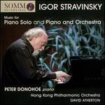 Igor Stravinsky: Music for Piano Solo and Piano and Orchestra