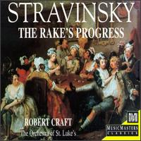 Igor Stravinsky (The Composer, Vol. 6): The Rake's Progress - Arthur Woodley (baritone); Jayne West (soprano); Jeffrey Johnson (bass); John Cheek (bass); Jon Garrison (tenor);...