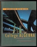 College Algebra: Visualizing and Determing Solutions