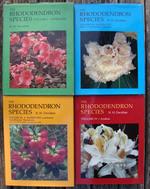 The Rhododendron Species. Vols. I-IV. Complete Set