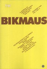 Bikmaus: A Journal of Papua New Guinea Affairs, Ideas and Arts, Volume 5, Number 4