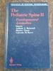 The Pediatric Spine (Vol. 2) (Principles of Pediatric Neurosurgery Ser. )