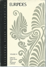 Complete Greek Tragedies: Volume IV Euripides