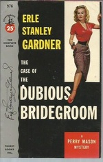 The Case of the Dubious Bridegroom (Pocket 976; 1st Printing)