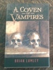 A Coven of Vampires Signed Edition With Chap Book