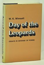 Day of the Leopards Essays in Defense of Poems
