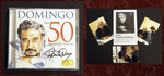 Domingo-the 50 Greatest Tracks [2 Cd] (Signed By Placido, W/ Photos)