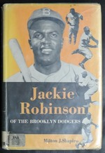 Jackie Robinson of the Brooklyn Dodgers,