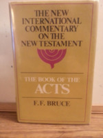 Commentary on the Book of the Acts: The English Text with Introductions, Exposition and Notes. The New International Commentary on the New Testament series.