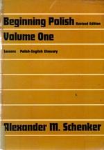 Beginning Polish, Volume One (Revised Edition)
