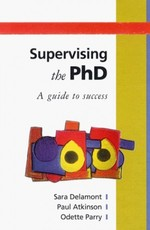 Supervising the PhD