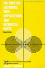 Differential Equations: with Applications and Historical Notes