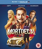 Mortdecai [Blu-Ray + Uv Copy] [2015]
