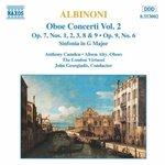Albinoni: Oboe Concerti, Vol. 2