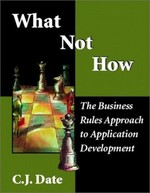 What Not How: Business Rules Approach to Application Development