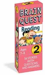 Brain Quest Grade 2 Reading: 56 Stories With Questions and Answers (Brain Quest Decks)