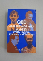 Qed and the Men Who Made It; Dyson, Feynman, Schwinger, and Tomonaga
