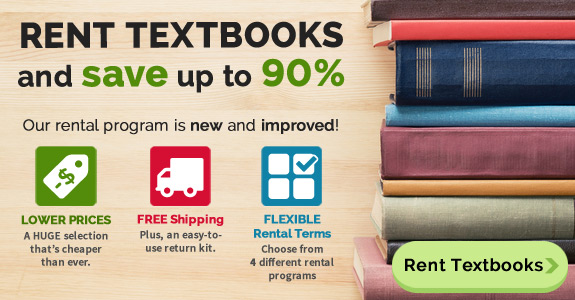 Rent textbooks and save up to 80%
