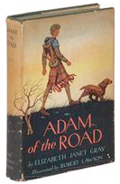 Signed books and autographed editions of Adam of the Road, by Elizabeth Janet Gray