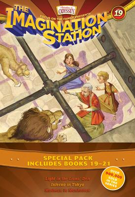Imagination Station Books 3-Pack: Light in the Lions' Den / Inferno in Tokyo / Madman in Manhattan - Hering, Marianne
