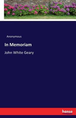 In Memoriam - Anonymous