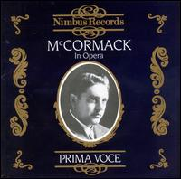 In Opera: Prima Voce - John Mccormack