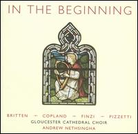 In the Beginning - Allan Smith (bass); Frances Bourne (mezzo-soprano); James Birchall (bass); James Gilchrist (tenor); Jeremy Kenyon (alto);...