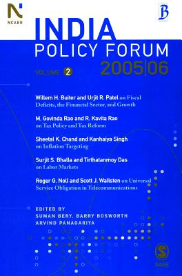 India Policy Forum - Bery, Suman (Editor)