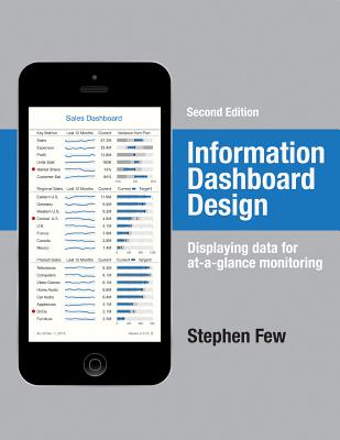 Information Dashboard Design: Displaying Data for At-A-Glance Monitoring - Few, Stephen