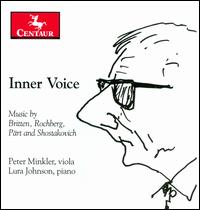 Inner Voice - Lura Johnson (piano); Peter Minkler (viola)