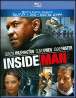 Inside Man [2 Discs] [With Tech Support for Dummies Trial] [Blu-ray/DVD] - Spike Lee