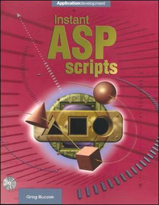 Instant ASP Scripts - Buzcek, Greg, and Buczek, Greg