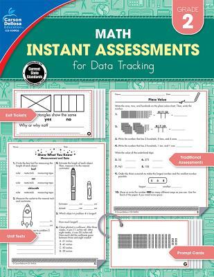 Instant Assessments for Data Tracking, Grade 2: Math - Carson-Dellosa Publishing