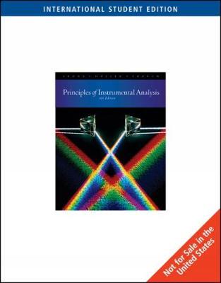 9780495125709 instrumental analysis principles douglas a skoog rh alibris com Susan Skoog MD Whitey Skoog