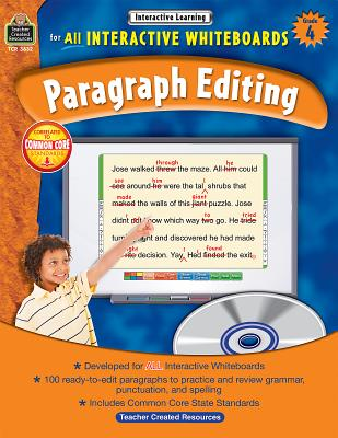Interactive Learning: Paragraph Editing Grd 4 - Teacher Created Resources