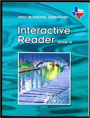 Interactive Reader Grade 10 - Holt McDougal (Prepared for publication by)