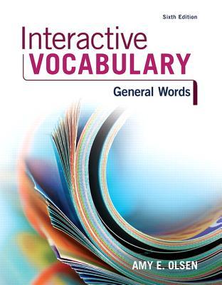Interactive Vocabulary - Olsen, Amy E