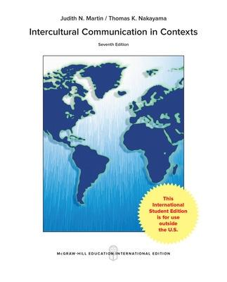 Intercultural Communication in Contexts - MARTIN