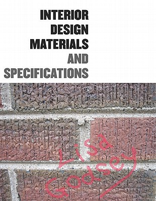 Interior Design Materials And Specifications Book By Lisa Godsey