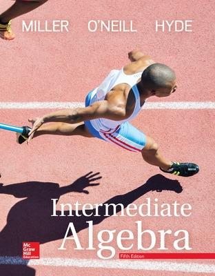 Intermediate algebra book by julie miller 17 available editions intermediate algebra miller julie and oneill molly and hyde fandeluxe Choice Image