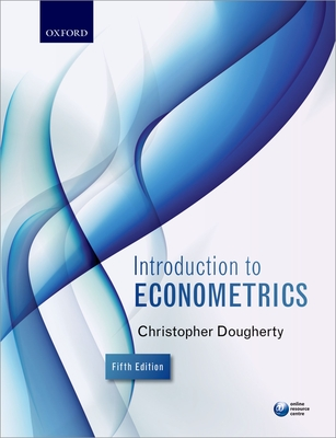 Introduction to econometrics book by christopher dougherty 5 cash for textbooks fandeluxe Choice Image