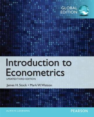 Introduction to Econometrics - Stock, James H., and Watson, Mark W.