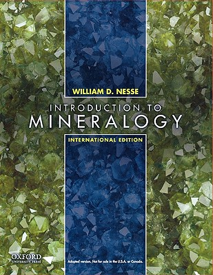 Introduction to Mineralogy: International Edition - Nesse, William D.