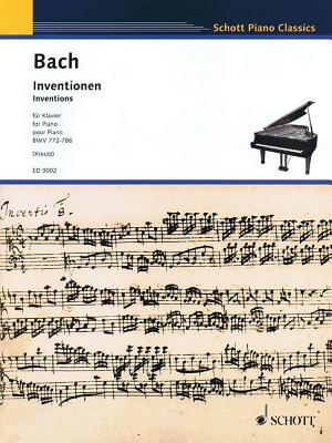 Inventions, Bwv 772-786: Piano - Bach, Johann Sebastian (Composer)
