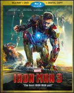 Iron Man 3 [2 Discs] [Includes Digital Copy] [Blu-ray/DVD]