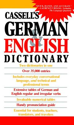 Cassell's German English Dictionary - Sasse, H -C (Compiled by), and Cassell, and Horne, J Joseph (Photographer)